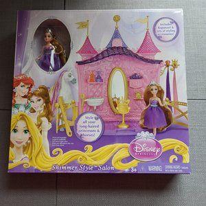 Disney Princess Tangled  Rapunzel Shimmer Salon